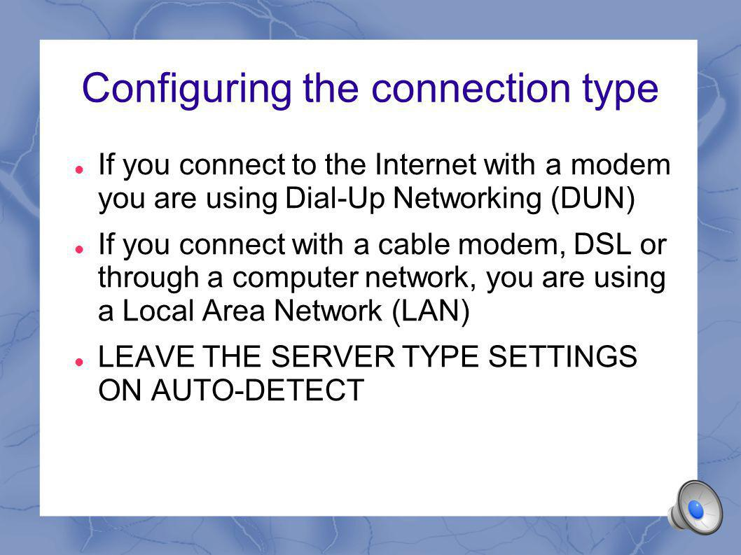 Firewalls Prevent unauthorised connections to your computer Can affect the connections by blocking the ports needed to connect to the remote FTP server You can configure your firewall so that ports 20 and 21 are open