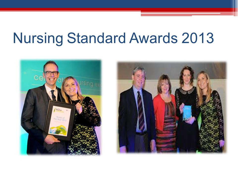 Nursing Standard Awards 2013