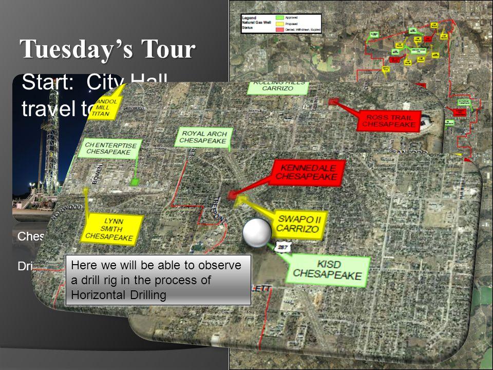 Tuesdays Tour Travel to Eden SW site