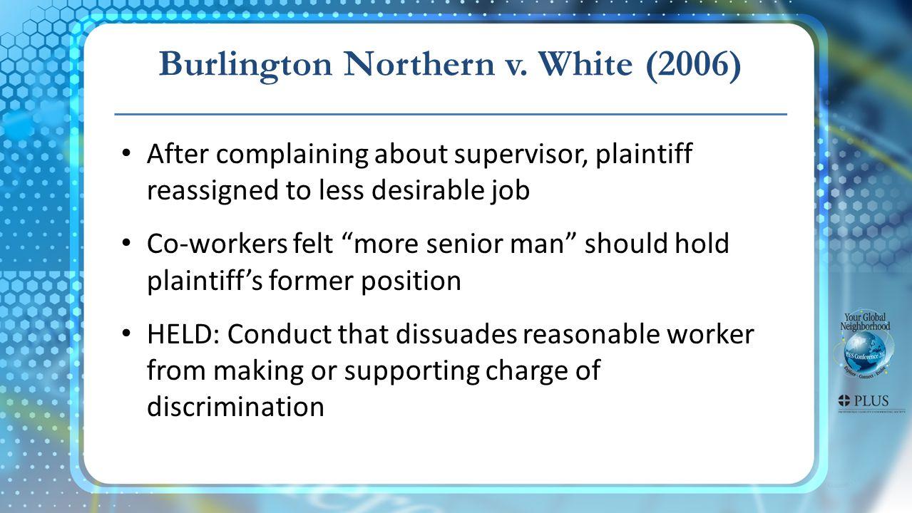 Burlington Northern v.