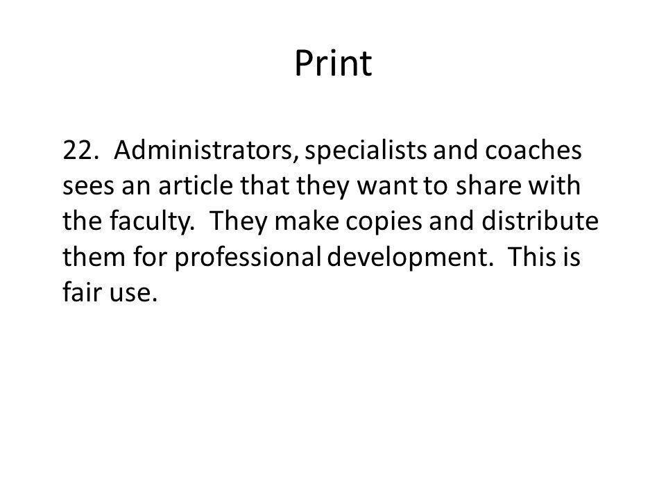 Print 22.