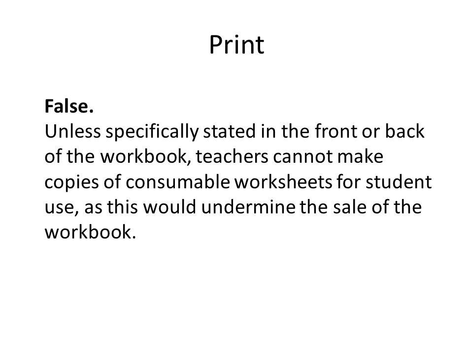 Print False.