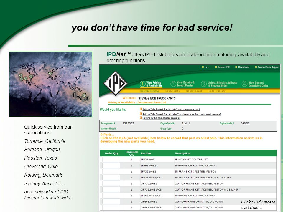 WHY CONSIDER IPD.