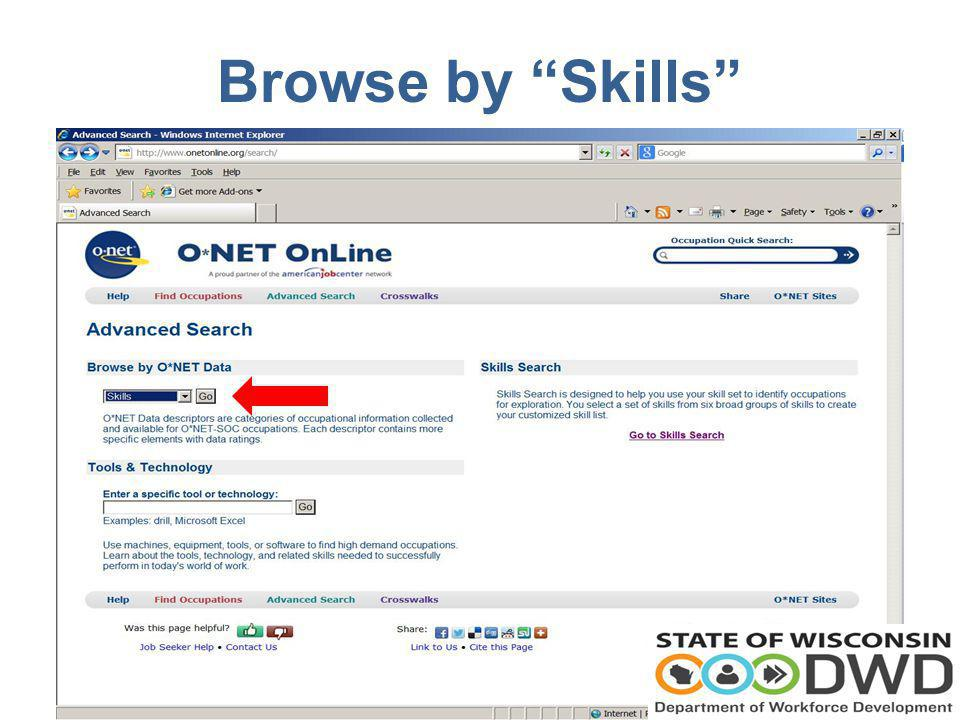 Browse by Skills