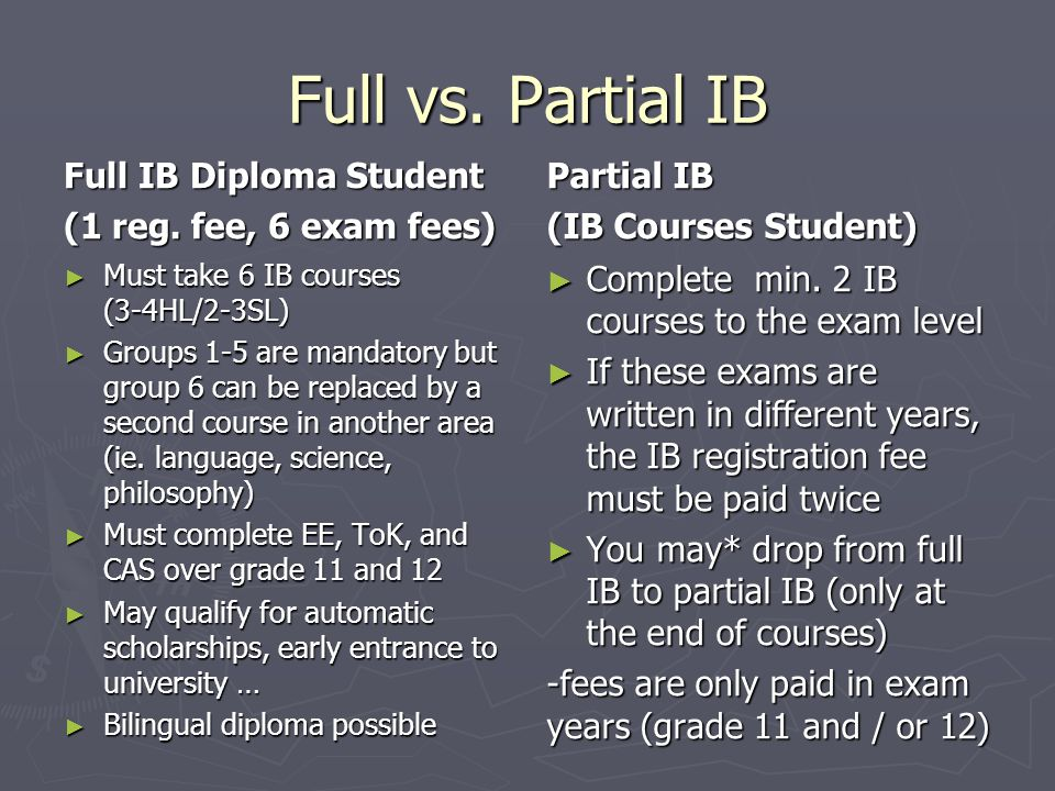 Other Benefits of the full IB Programme Childrens neural connections are still being pruned until they are 20 years old.