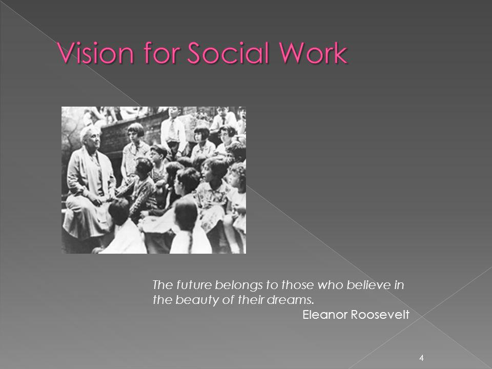 The profession of social work grew out of efforts of persons during the Progressive Era to address unprecedented social problems and political corruption Where are our voices today.