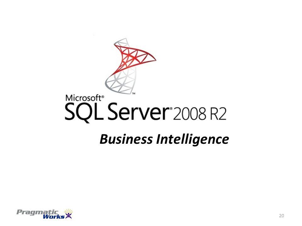20 Business Intelligence