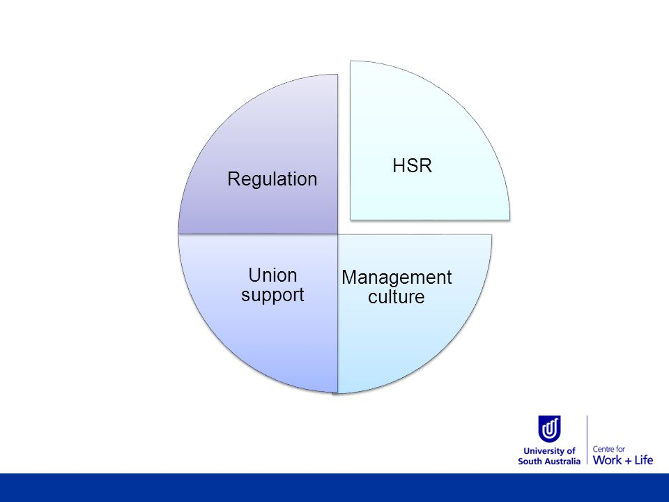HSR Management culture Union support Regulation