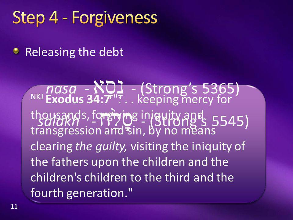 NKJ Exodus 34:7 ...
