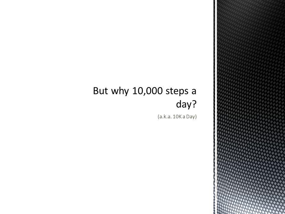 (a.k.a. 10K a Day)