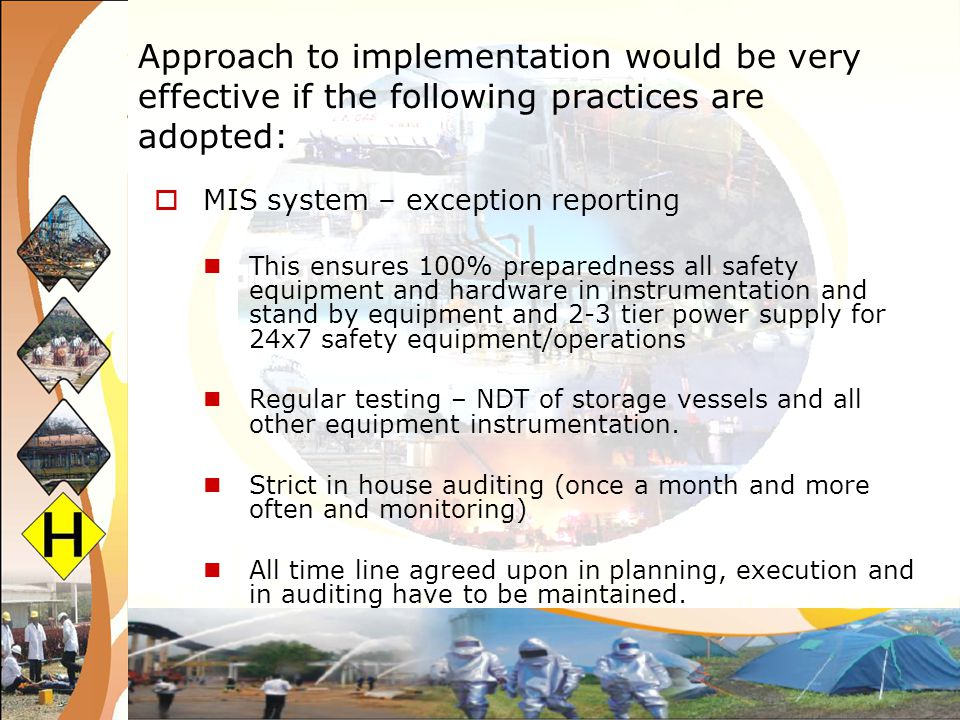 Implementation and Coordination at the National Level The consultative approach of developing detailed guidelines for plan implementation helps in two ways, it increases the ownership of stakeholders in the solution process; and It brings clarity to the governments on their roles and responsibilities.