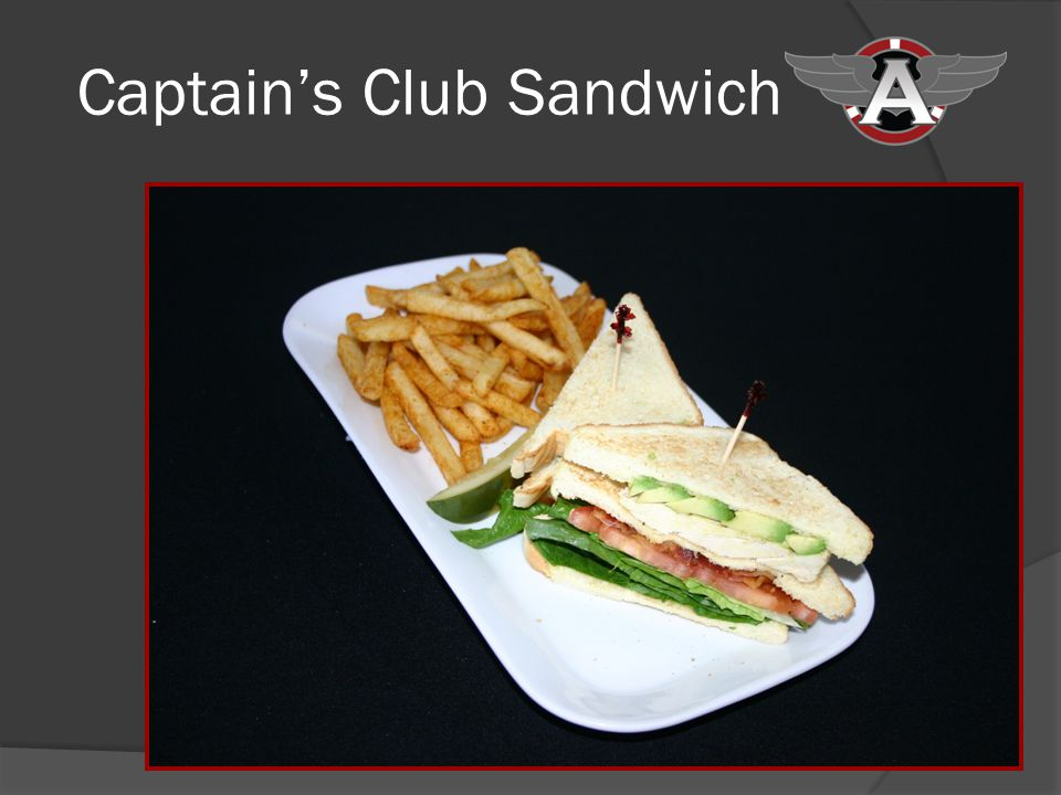 Captains Club Sandwich