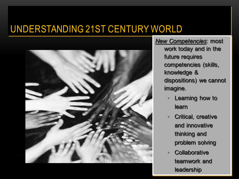 Welcome to 21 st Century Learning: The alignment of curriculum, assessment and instruction guided by relevance, relationships and rigor for our students.