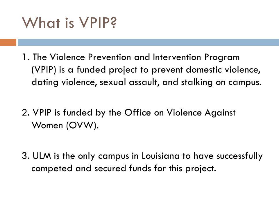 Why do we need VPIP.1.