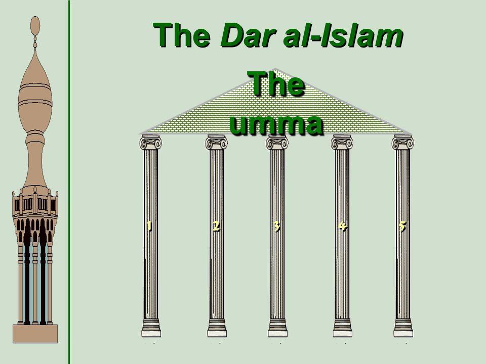 The Dar al-Islam 1 1 2 2 3 3 4 4 5 5 The umma