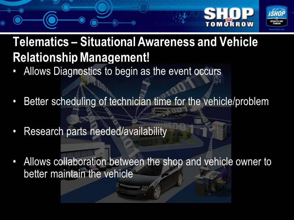 z Telematics – Situational Awareness and Vehicle Relationship Management.