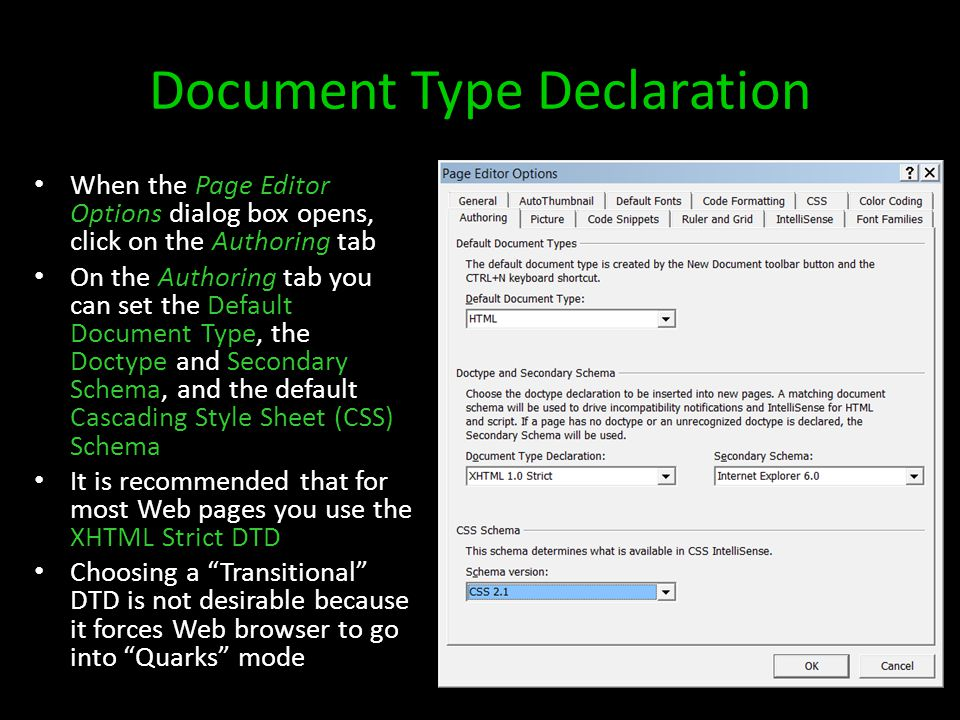 Formatting Text To format selected text you can: – Use the buttons on the Common toolbar or – Select Font, Paragraph, or CSS Styles from the Format menu or – Select a style from either the Apply or Manage Styles task panes or – Right-click on the selected text and choose either: Font or Paragraph Font dialog box