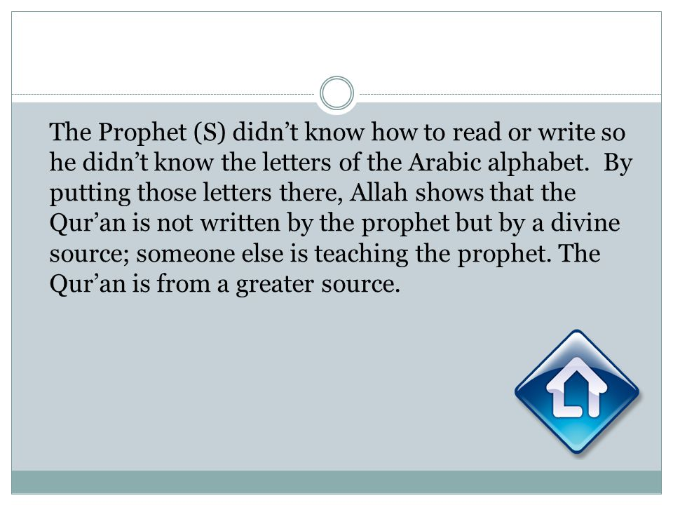 The Prophet (S) didnt know how to read or write so he didnt know the letters of the Arabic alphabet. By putting those letters there, Allah shows that