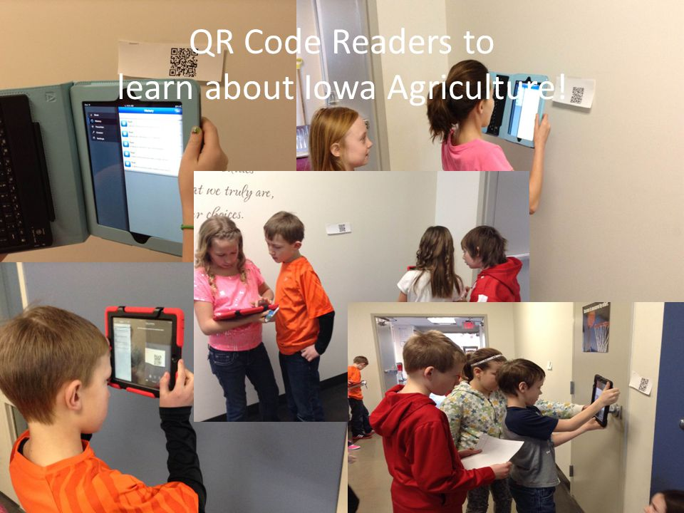 QR Code Readers to learn about Iowa Agriculture!