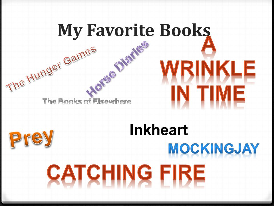 My Favorite Books Inkheart