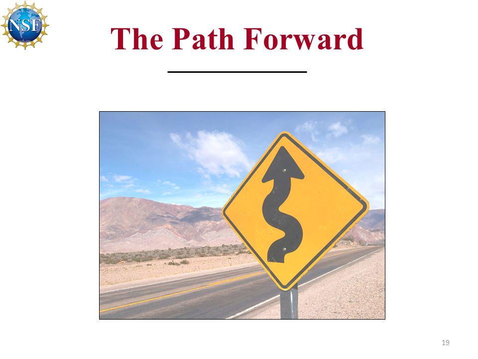 19 The Path Forward