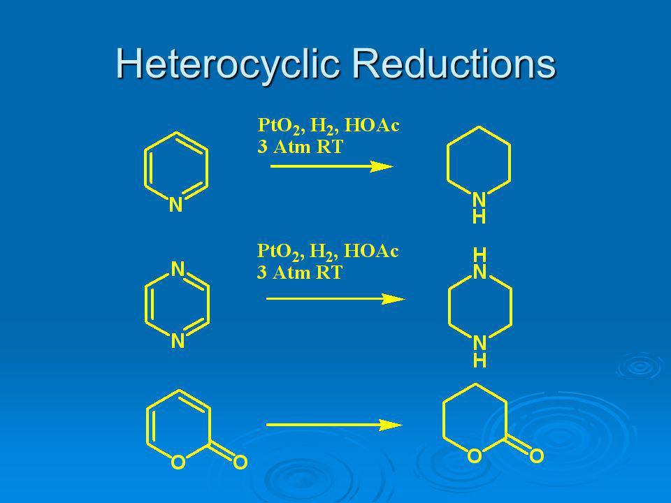 Heterocyclic Reductions