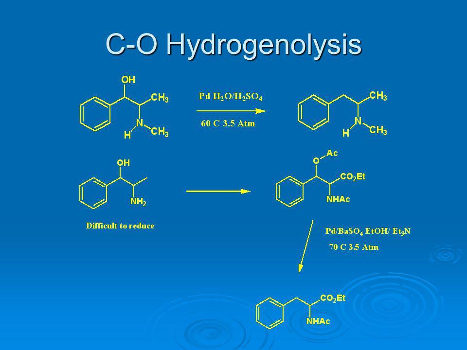 C-O Hydrogenolysis