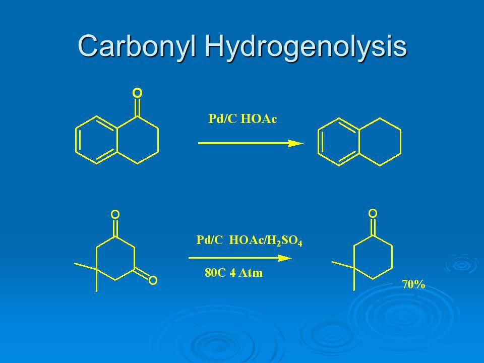 Carbonyl Hydrogenolysis