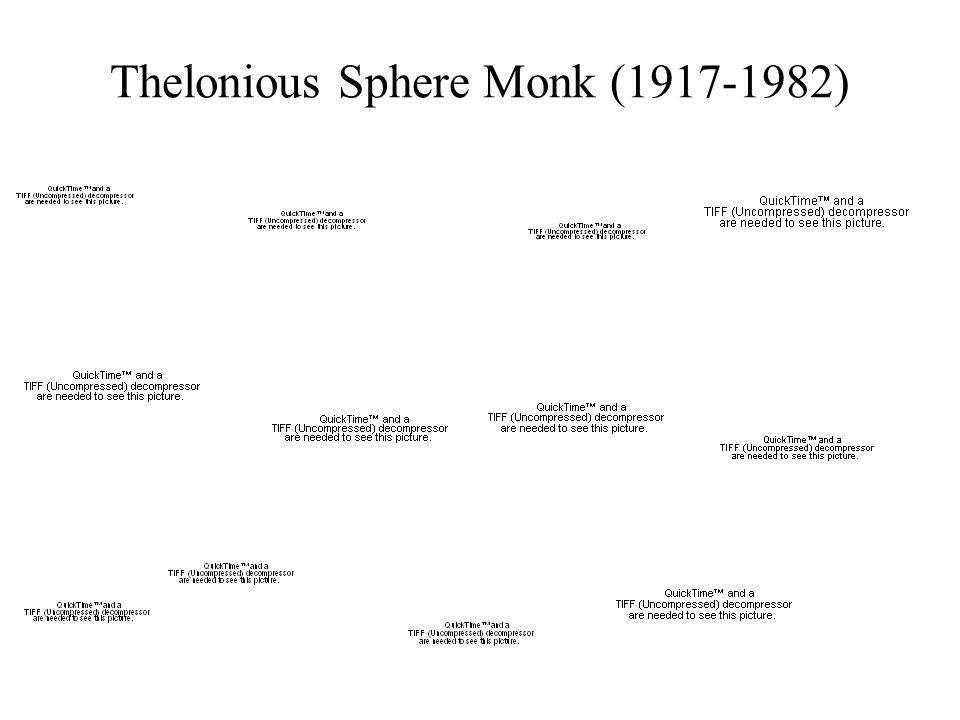 Thelonious Sphere Monk (1917-1982)