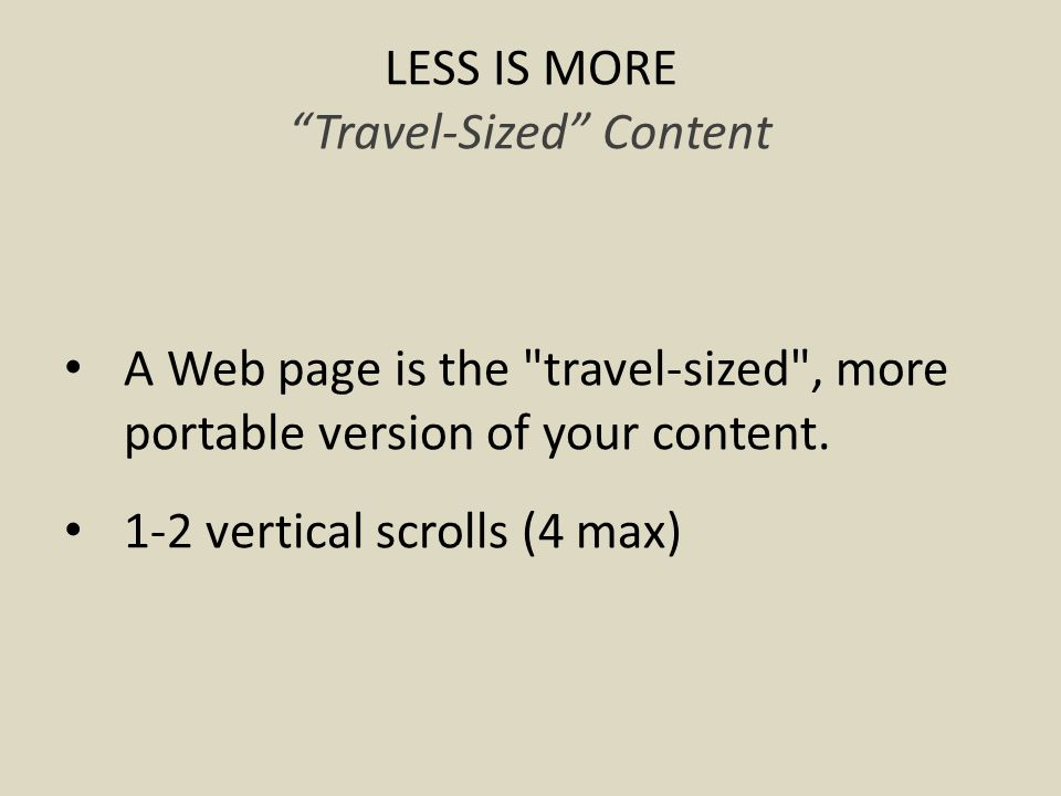 ITS ALL ABOUT THE LABEL Avoiding CMS Hacks 1.A CMS provides a consistent look despite different authors/departments.