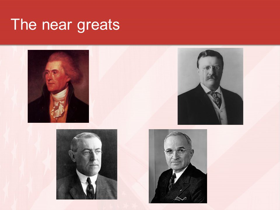The near greats