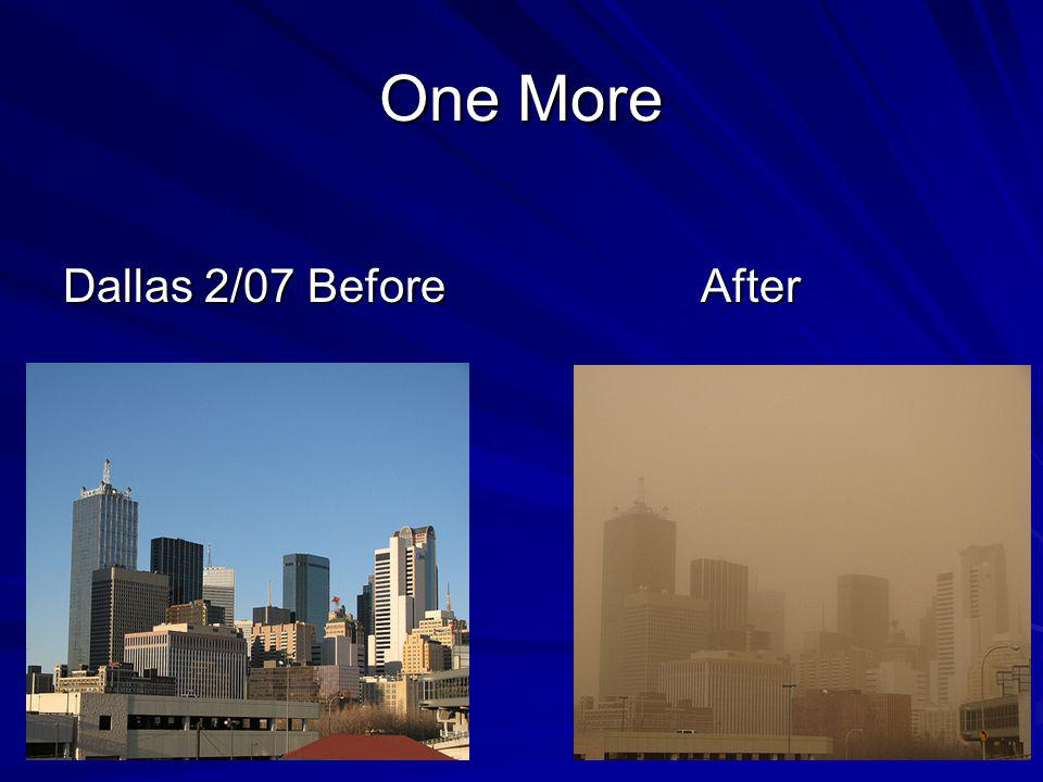 One More Dallas 2/07 Before After