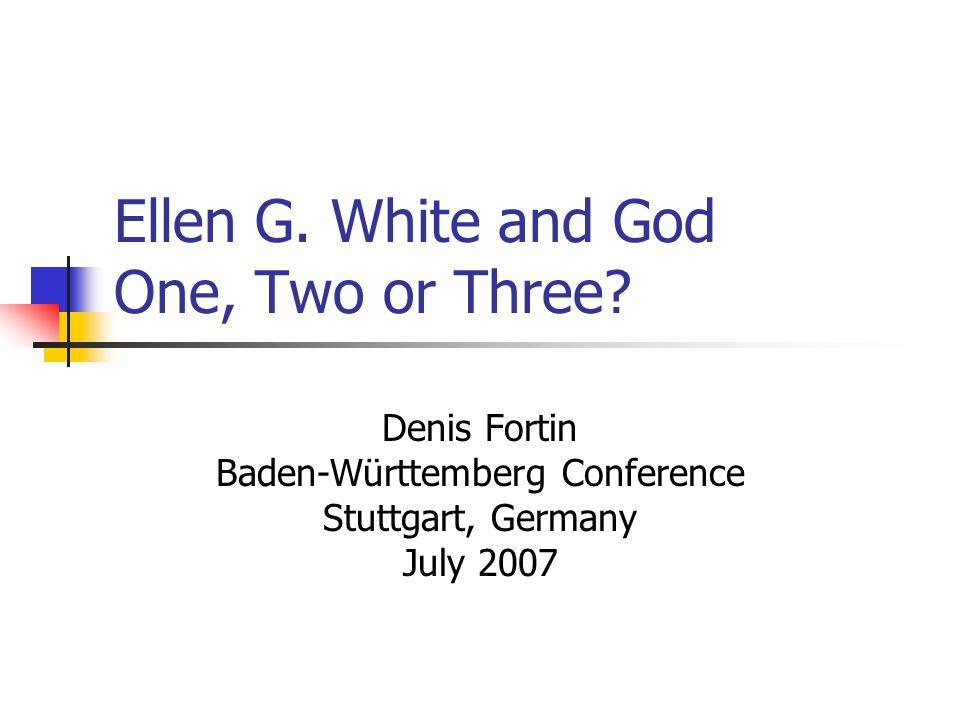 Kellogg Crisis (1902-1907) Ellen Whites capstone statements on her view of the Godhead came in reaction to Kelloggs pantheistic teachings.