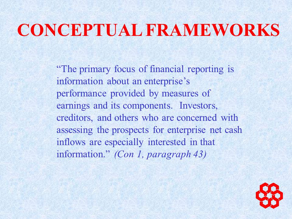 Asset An asset is a resource controlled by the entity as a result of past events and from which future economic benefits are expected to flow to the entity.