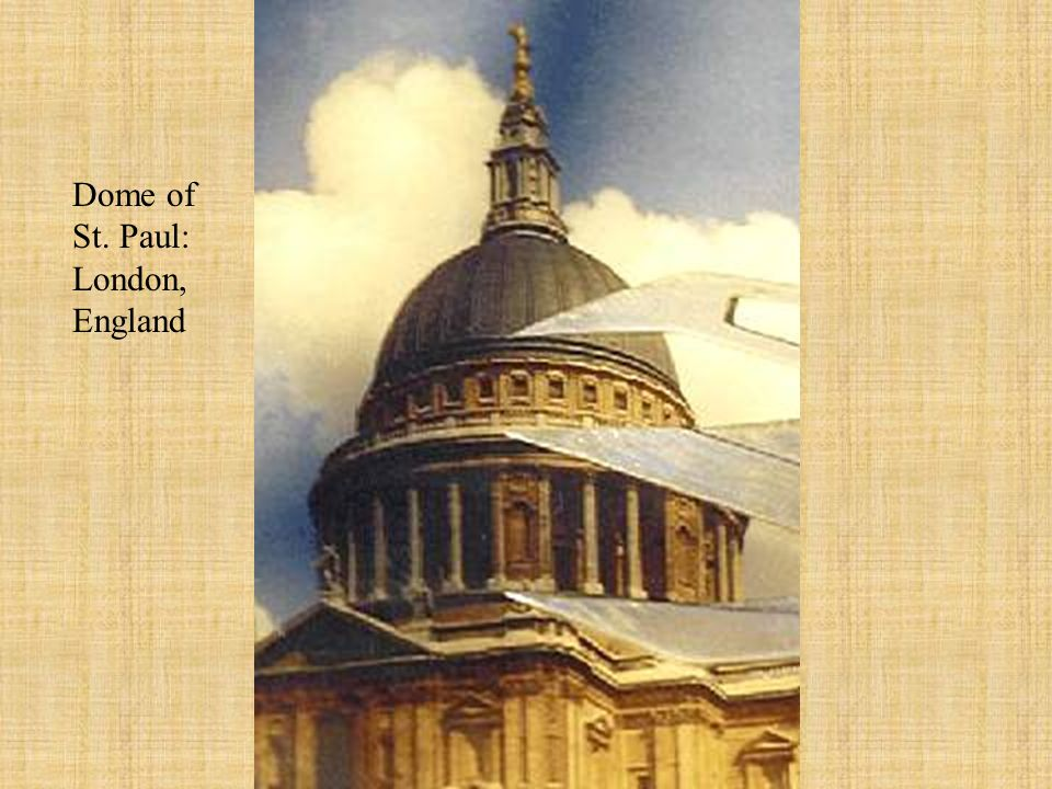 Dome of St. Paul: London, England