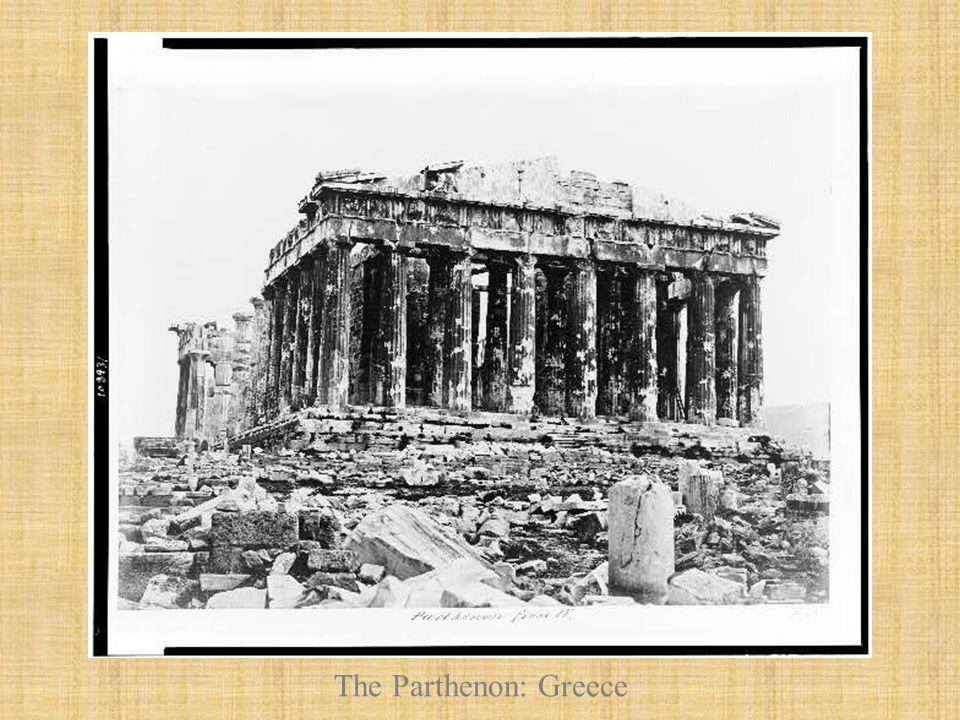 The Parthenon: Greece