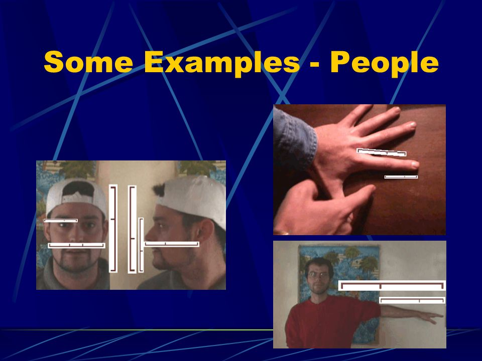 Some Examples - People
