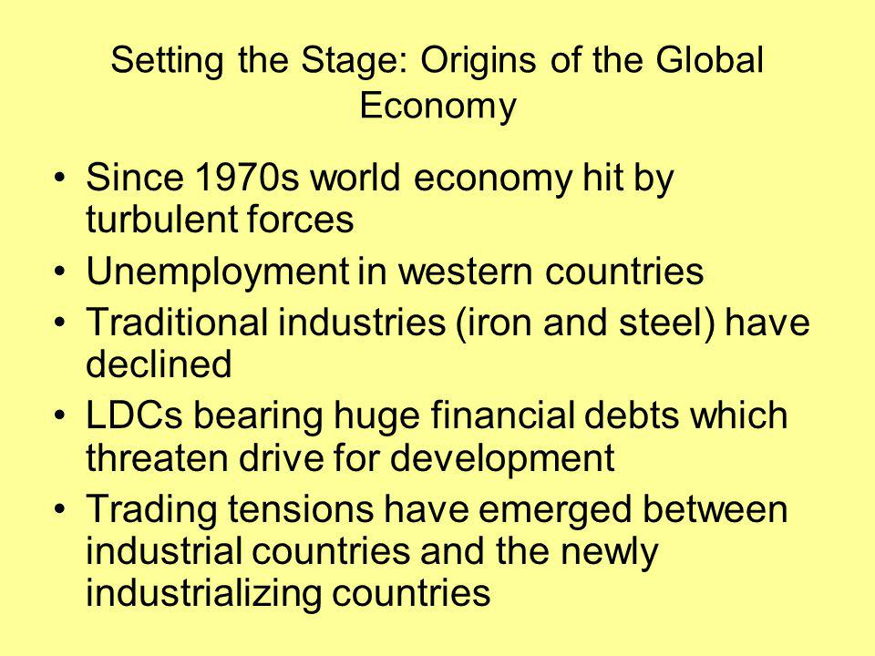 Forces Surrounding Global System of Production 4.