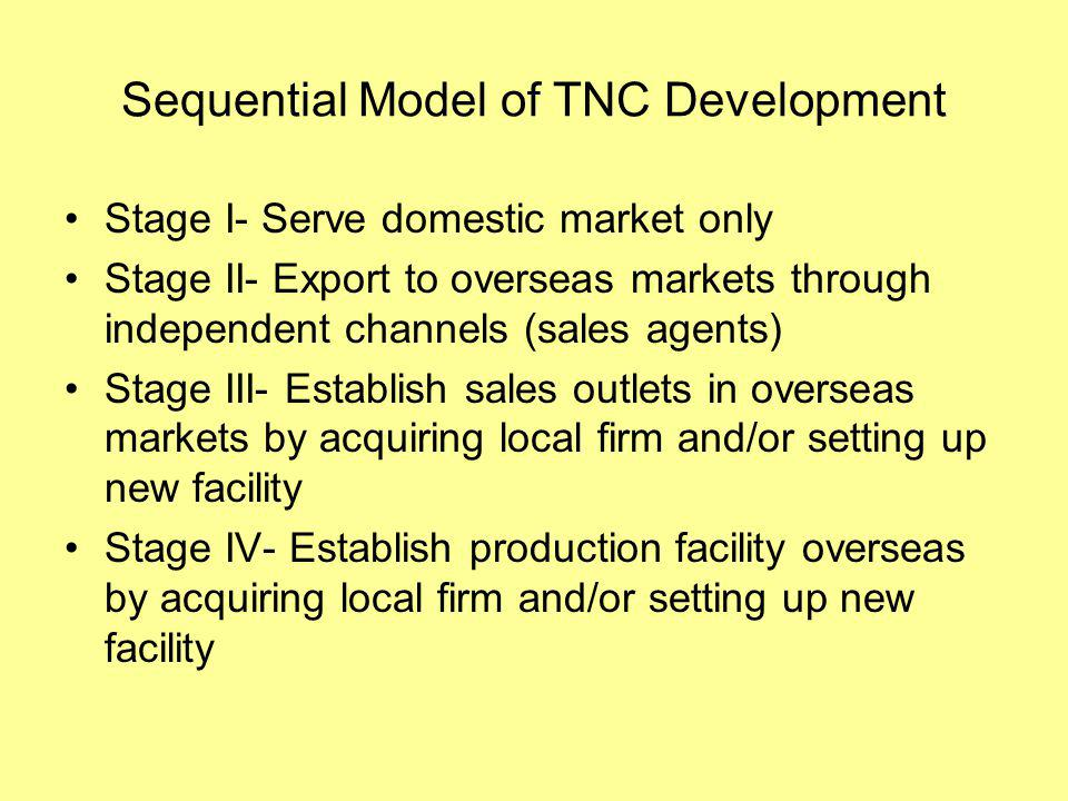 Global Production Chains and Networks Production Chain: Materials > Procurement > Transformation > Marketing and Sales >Distribution > Service Definition: transactionally linked sequence of functions where each stage adds value to the process of goods and services production Two aspects important: coordination and regulation and geographical configuration Production chains may be very localized but increasingly are global in scale to take advantage of international division of labor