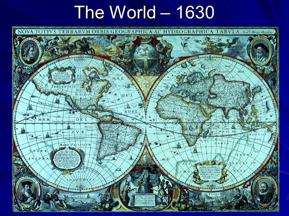 The World – 1630