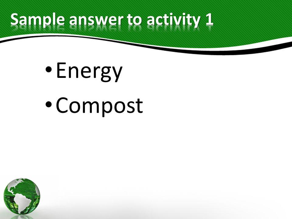 Energy Compost