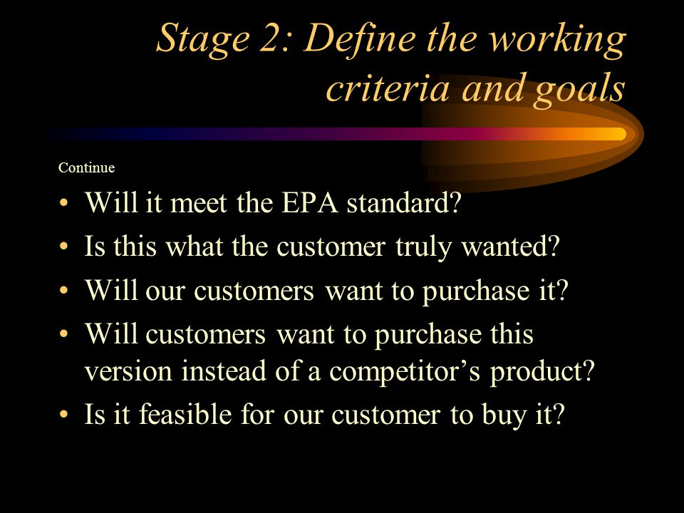 Stage 9:Implement and commercialize Implement the best solution Apply methods of business to for profit