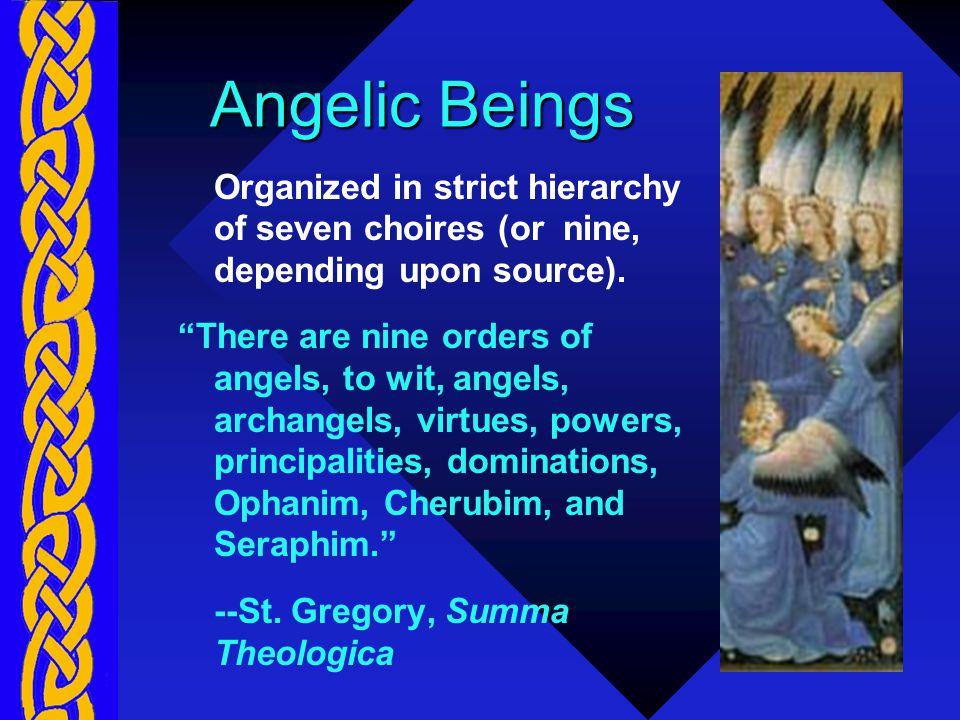 God The Supreme Primate King of Angels (Rex Angelorum)