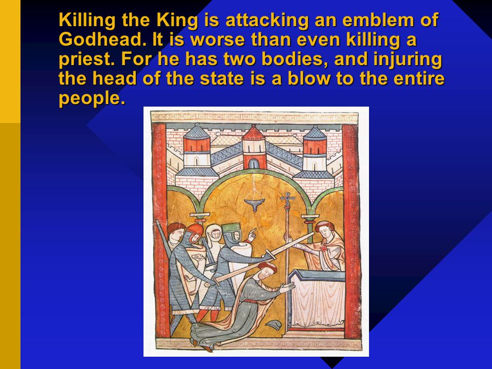 Regicide: The Worst Act of Pride If I could find example of thousands that had struck anointed kings And flourishd after, Ild not dot; but [...] Nor brass nor stone nor parchment bears not one.