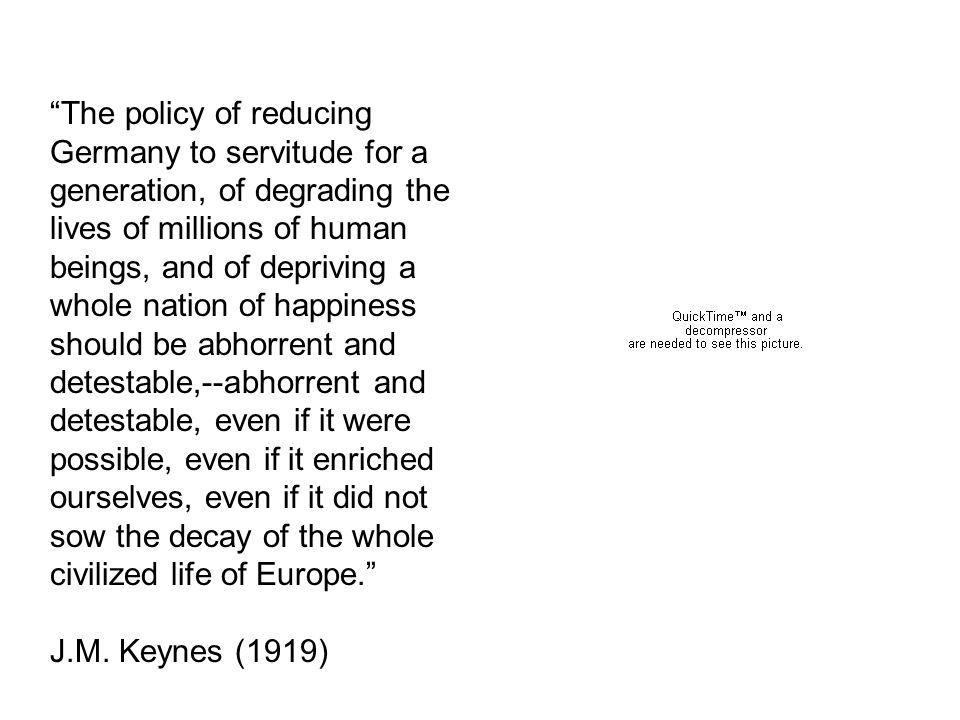 Money, unemployment, prices Keynes seminal work: The General Theory of Employment, Interest, and Money (1936) Started his research in the 1920s Set out to provide a rigorous analysis of how an economy can be in an equilibrium and have unemployment -- why dont wages and prices adjust to employ all people who want jobs and all resources?
