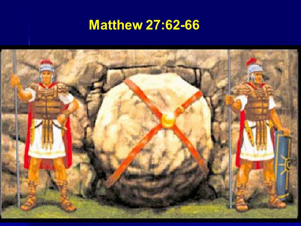 Matthew 27:62-66