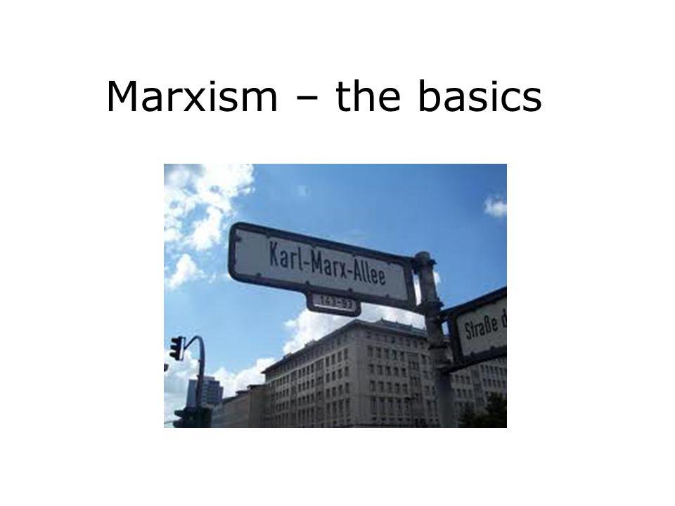 Marxism – the basics