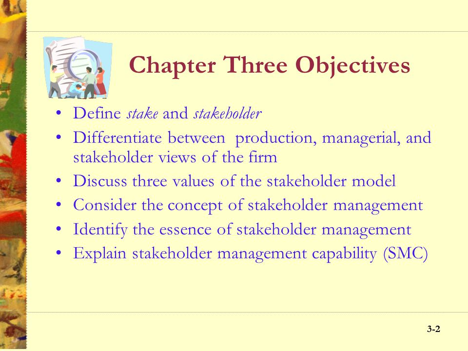 3-11 The Stakeholder Approach to Business, Society and Ethics