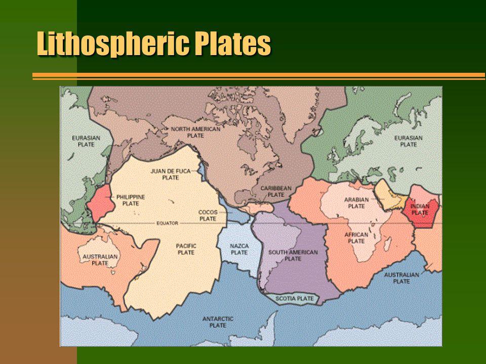 Lithospheric Plates