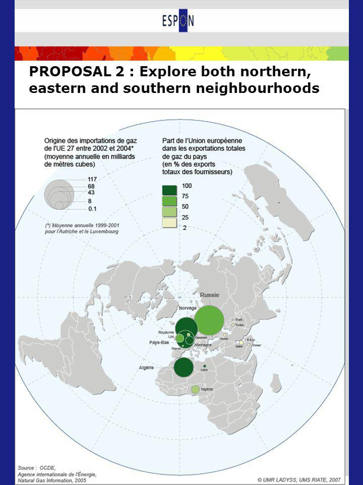 PROPOSAL 2 : Explore both northern, eastern and southern neighbourhoods